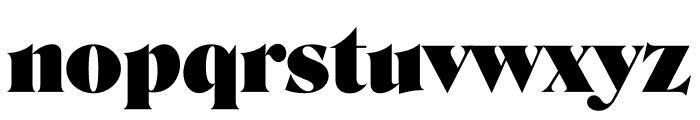 Roslindale Display Ultra Font LOWERCASE