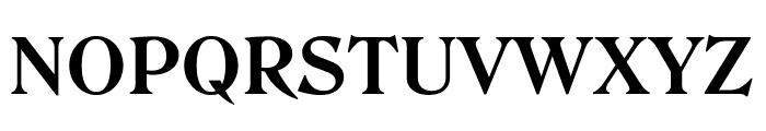 Roslindale Text Bold Font UPPERCASE