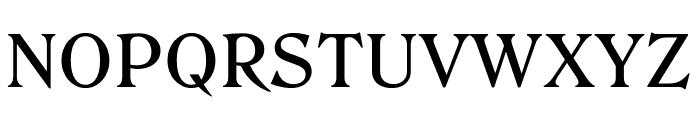 Roslindale Text Medium Font UPPERCASE