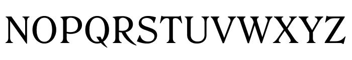 Roslindale Text Regular Font UPPERCASE