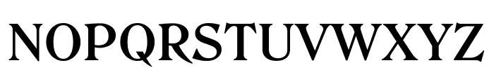 Roslindale Text Semi Bold Font UPPERCASE