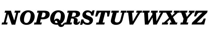 Sentinel Black Italic Font UPPERCASE