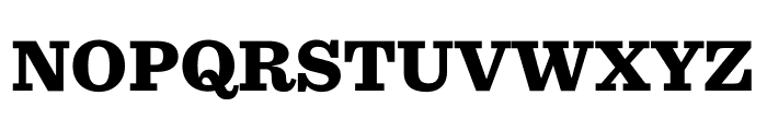 Sentinel Black Font UPPERCASE