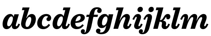 Sentinel Bold Italic Font LOWERCASE