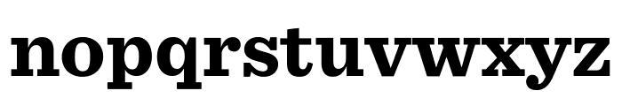 Sentinel Bold Font LOWERCASE