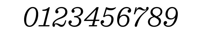 Sentinel Light Italic Font OTHER CHARS
