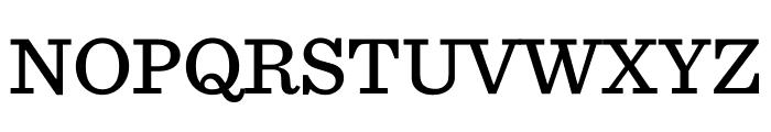 Sentinel Medium Font UPPERCASE