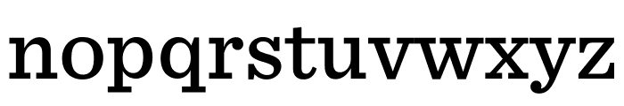 Sentinel Medium Font LOWERCASE