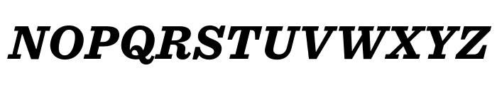 Sentinel ScreenSmart Black Italic Font UPPERCASE