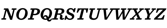 Sentinel ScreenSmart Bold Italic Font UPPERCASE