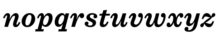 Sentinel ScreenSmart Bold Italic Font LOWERCASE