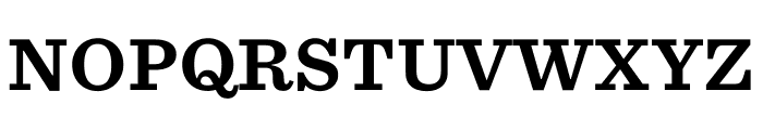 Sentinel ScreenSmart Bold Font UPPERCASE