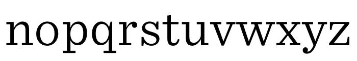 Sentinel ScreenSmart Light Font LOWERCASE