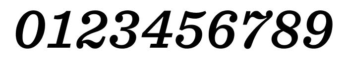 Sentinel ScreenSmart Semibold Italic Font OTHER CHARS