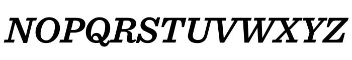 Sentinel Semibold Italic Font UPPERCASE