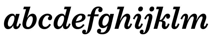 Sentinel Semibold Italic Font LOWERCASE