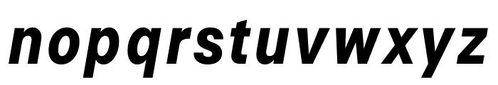 Signal Bold Italic Font LOWERCASE
