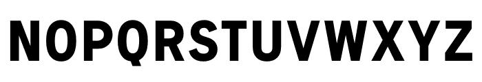 Signal Bold Font UPPERCASE