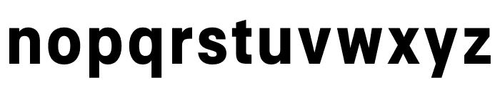 Signal Bold Font LOWERCASE