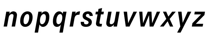Signal Italic Font LOWERCASE