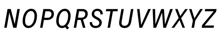 Signal Light Italic Font UPPERCASE