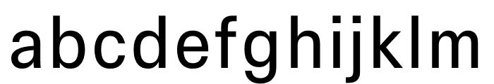 Signal Light Font LOWERCASE