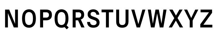 Signal Regular Font UPPERCASE