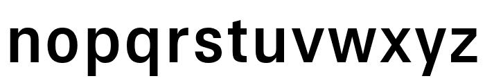 Signal Regular Font LOWERCASE