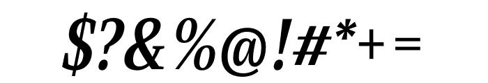 Singel Bold Italic Font OTHER CHARS