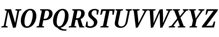 Singel Bold Italic Font UPPERCASE