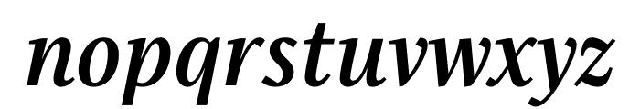 Singel Bold Italic Font LOWERCASE