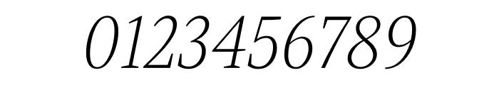 Singel Light Italic Font OTHER CHARS