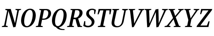 Singel Semi Bold Italic Font UPPERCASE