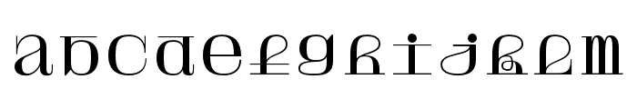 Solide Mirage Mono Font LOWERCASE