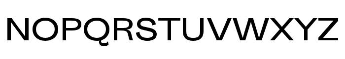 Sporting Grotesque Regular Font UPPERCASE