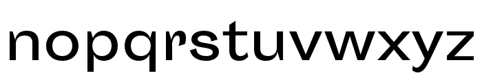Sporting Grotesque Regular Font LOWERCASE