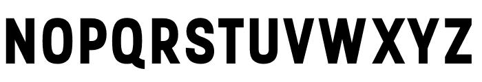Stellar Sans Bold Font UPPERCASE
