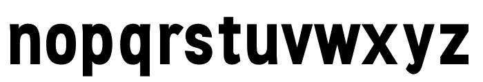Stellar Sans Bold Font LOWERCASE