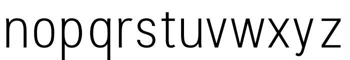 Stellar Sans Light Font LOWERCASE