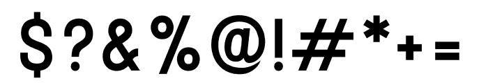 Stellar Sans Medium Font OTHER CHARS