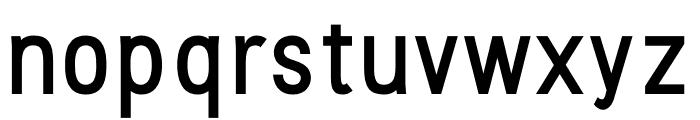 Stellar Sans Medium Font LOWERCASE