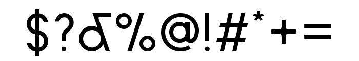 Sud Regular Font OTHER CHARS