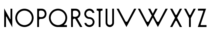 Sud Regular Font UPPERCASE