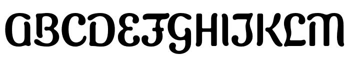 Sugar Vinegar Regular Font UPPERCASE