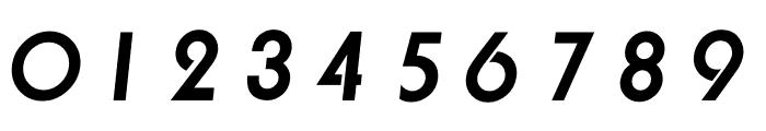 TFBurko Bold Italic Font OTHER CHARS