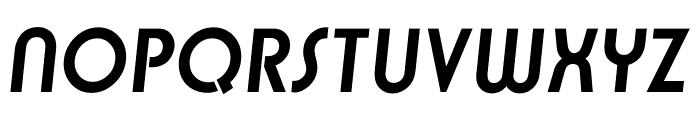 TFBurko Bold Italic Font UPPERCASE