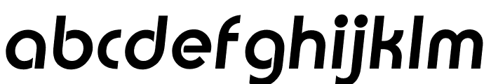 TFBurko Bold Italic Font LOWERCASE
