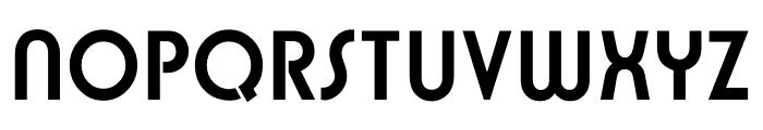 TFBurko Bold Font UPPERCASE