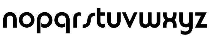 TFBurko Bold Font LOWERCASE