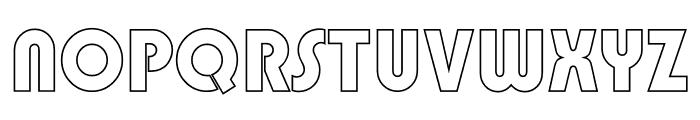 TFBurko Cop Out Font UPPERCASE
